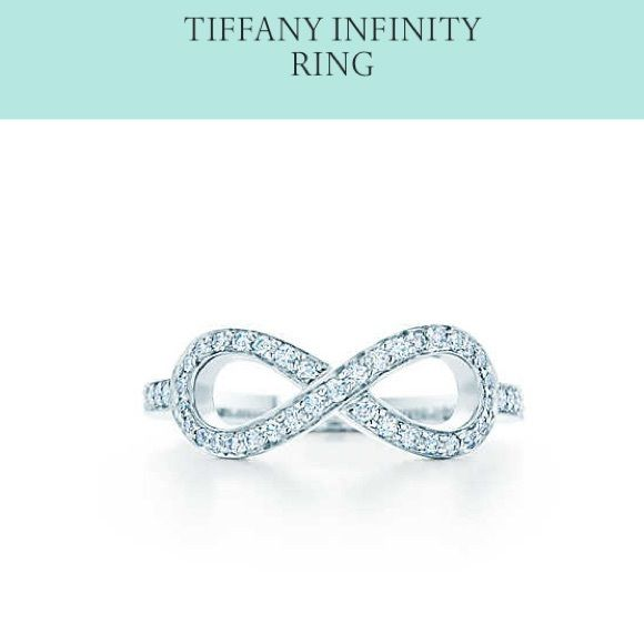 AUTHDIAMOND TIFFANY INFINITY RING Tiffany & Co platinum & diamond Infinity ring. Nice clean comes with box & bag! Worn a few times. Size 6. This is a timeless classic collection that will never go out of style! Only goes up in value & price over time + in demand. Fantastic quality and craftsmanship! Can't beat Tiffany jewelry. So well-made! Great company with lots of history that stand behind their product! ©TIFFANY&CO. PT950. No trades! No pp. make reasonable offer. No low ball offers! no…