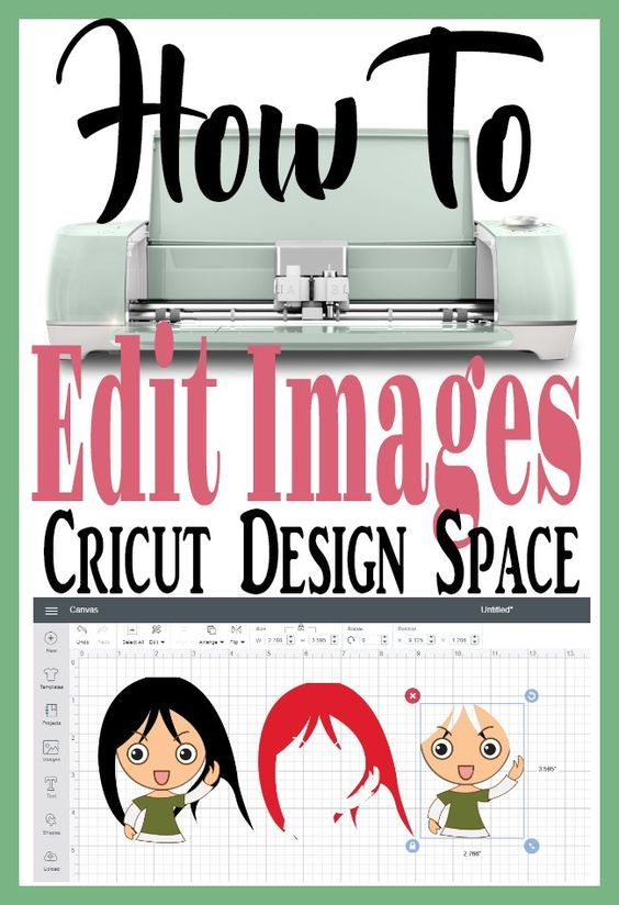 Easily Edit Images in Cricut Design Space