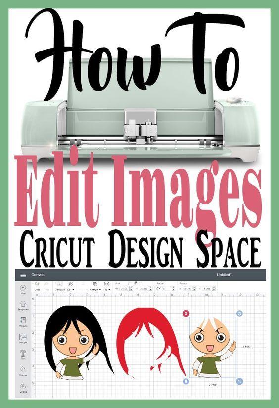 Einfaches Bearbeiten von Bildern in Cricut Design Space