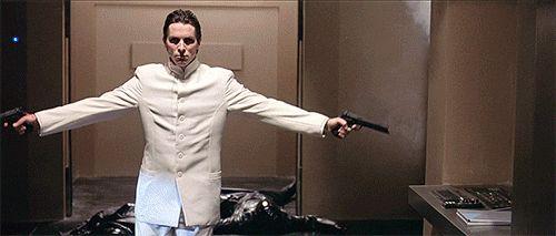 Christian Bale #Gif