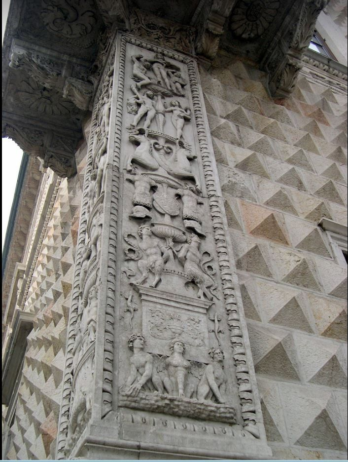Ferrara - Palazzo dei Diamanti , 1493