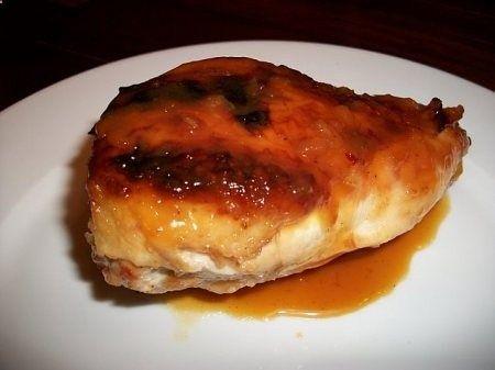 Recipe for orange honey glazed chicken