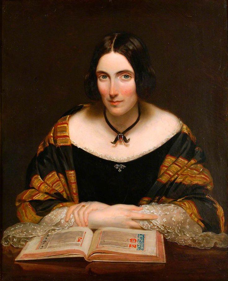 The Hon. Mrs E. Mills, 1845.