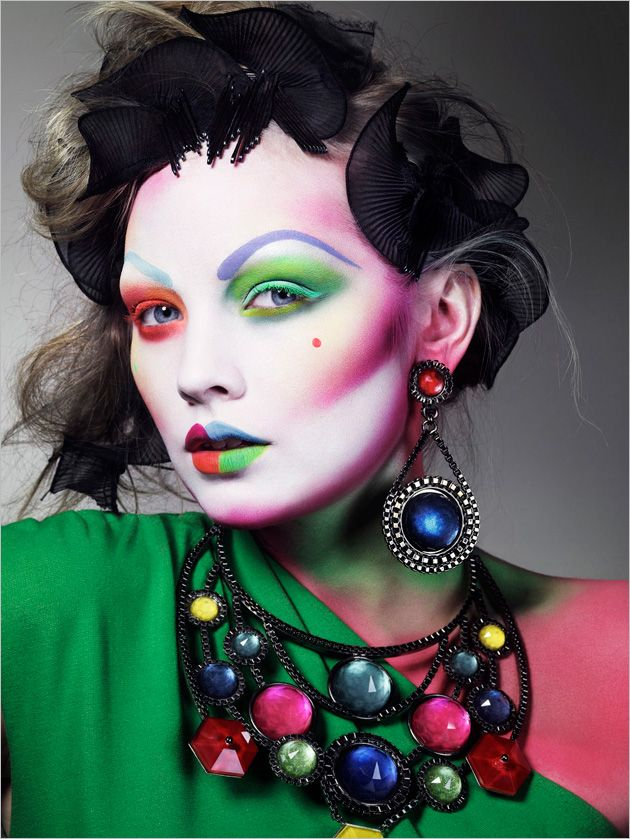 Magazine: Sunday Times Style, May 2010  Title: Paint Magic  Photographer: Jem Mitchell