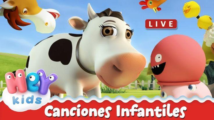 Canciones Infantiles Heykids Canciones Para Niños Las Mejores Canciones Infantiles En Español Y Canciones Dela Granja Kids Songs Antlers Decor Youtube