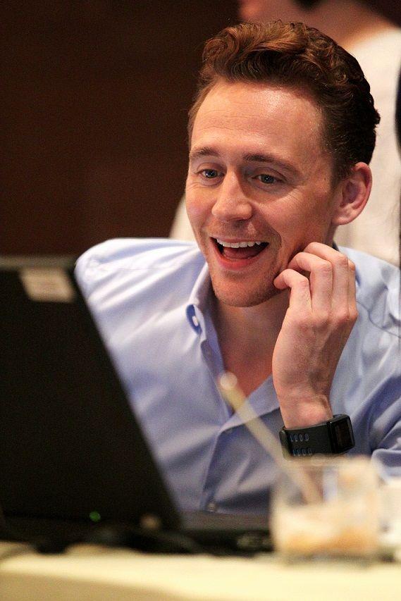 Tom Hiddleston in Beijing
