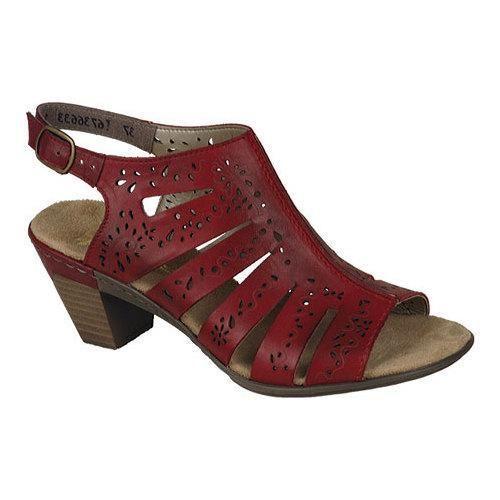 Women's Rieker-Antistress Aileen 66 Sandal Rosso