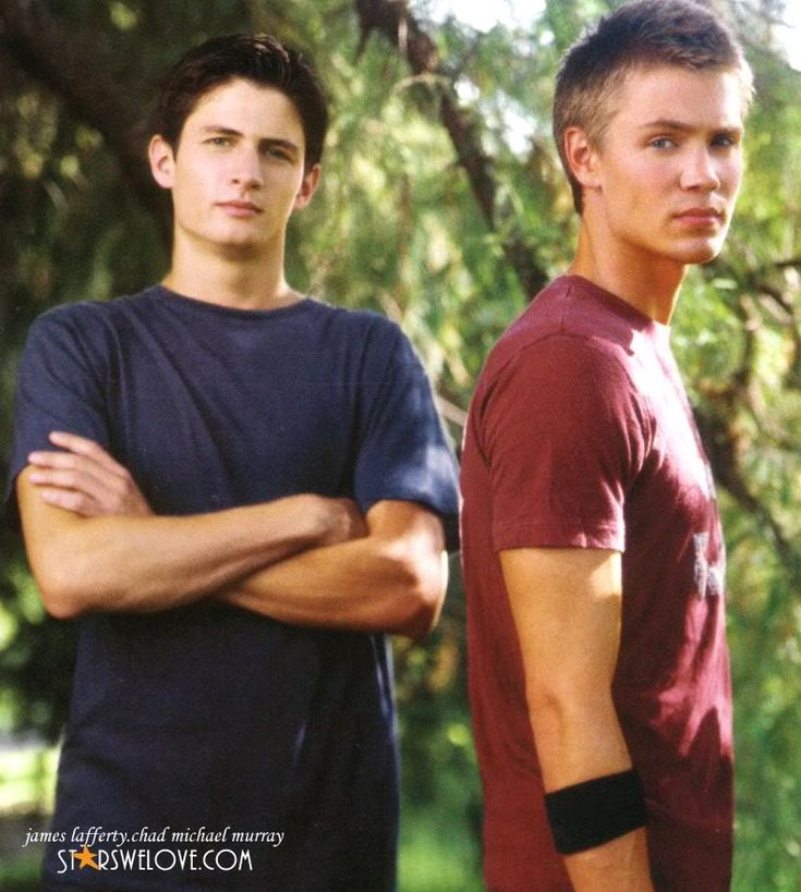 James Lafferty and Chad Michael Murray | Treeeee hilll ...
