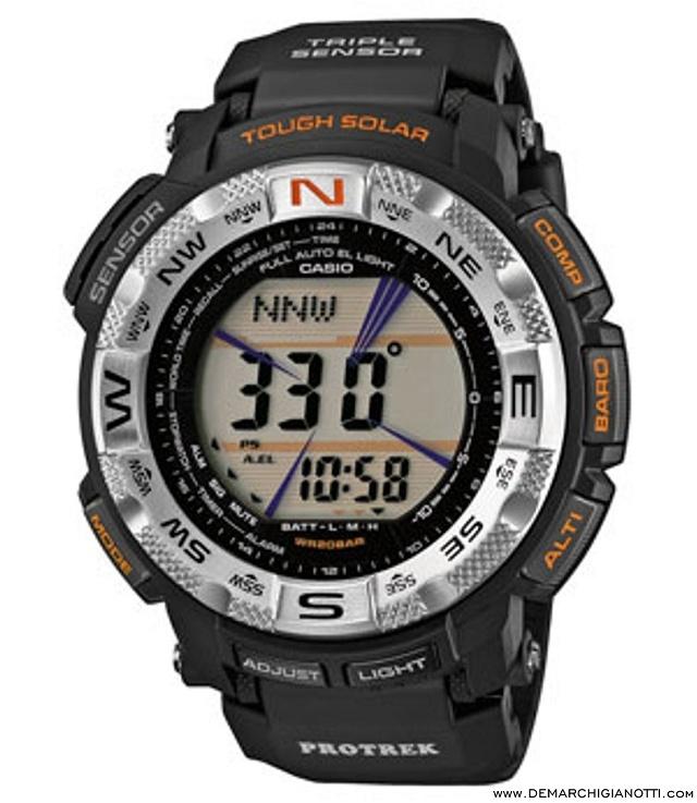 Casio Pro Trek  prg-260-1er  www.demarchigianotti.com