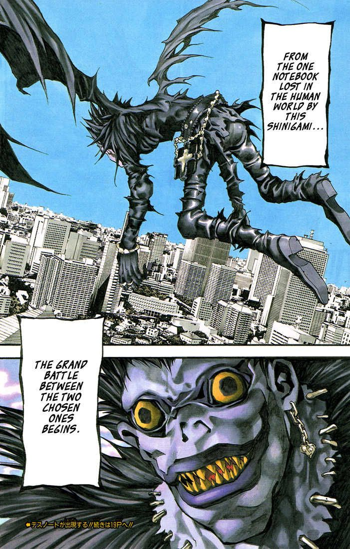Death Note 1, Death Note 1 Page 1 (Load image 10) - Read Free Manga Online at Ten Manga
