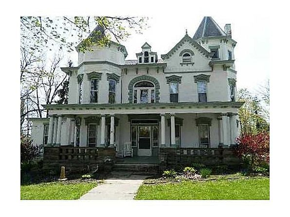 Gracious 2 Story Victorian Brick Know As The I H Thedieck