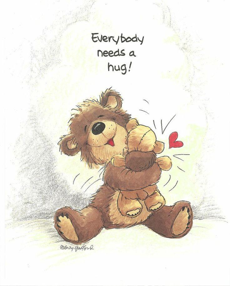 Todo el mundo necesita un abrazo. Everybody needs a hugs