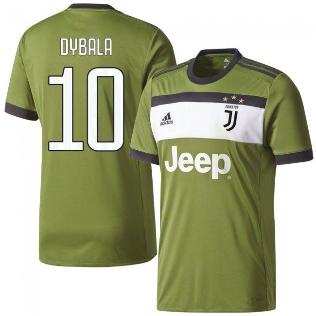 outlet store sale eb92d 2c53a Camiseta de la Juventus 2017-2018 3era + Dybala 21 (Dorsal ...