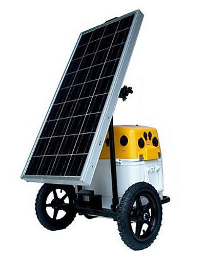 A portable solar generator is just what you need when the lights go out.