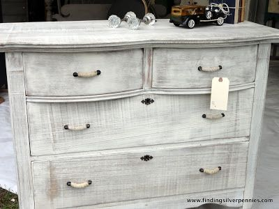 Our Brimfield Adventure. White Washed FurnitureGray ...