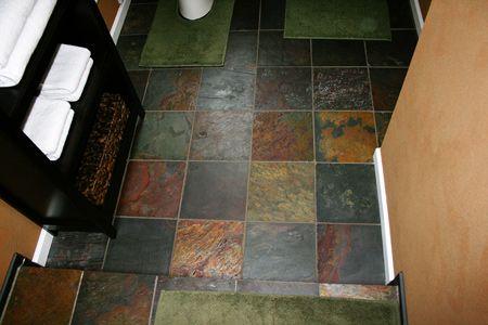 Slate Tile Bathrooms Condo Bathroom Bathroom Ideas Slate Tile Floors