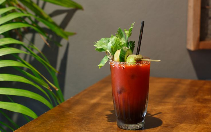 Sometimes a green smoothie just doesn't cut it. We've got a recipe for a Bloody Mary with three types of hot sauce.