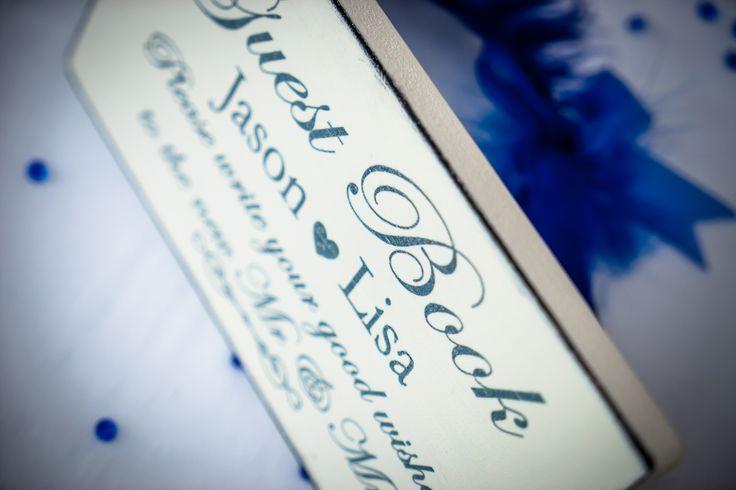 Beautifull sign for your guest book #weddingideas #weddingingreece #mythosweddings #kefalonia