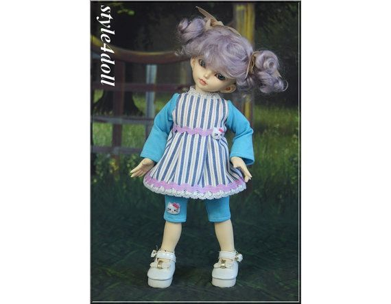 style4doll Dress  leggings for  LittleFee 1/6 BJD by sstyle4doll