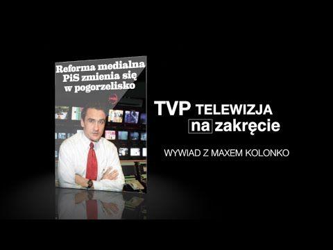 TVPis - wywiad WPROST  z Maxem Kolonko w MaxTV