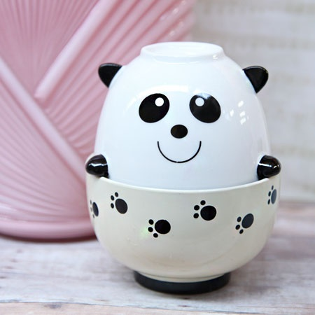 playful panda stacked bowl set $36.99