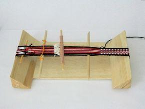 Telaradas: Telar casero para hacer cintas