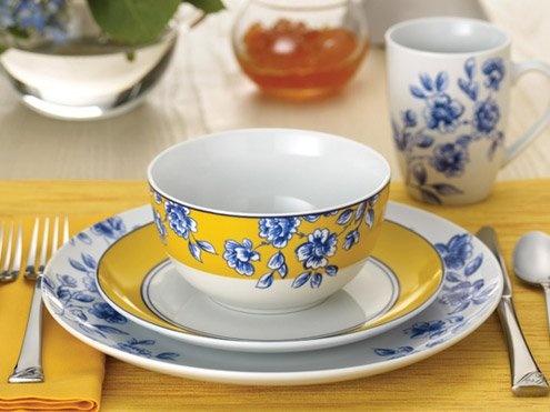 Paula Deen Spring Prelude 16-pc. Dinnerware Set & 21 best Paula Deen Dinnerware images on Pinterest | Paula deen Desk ...