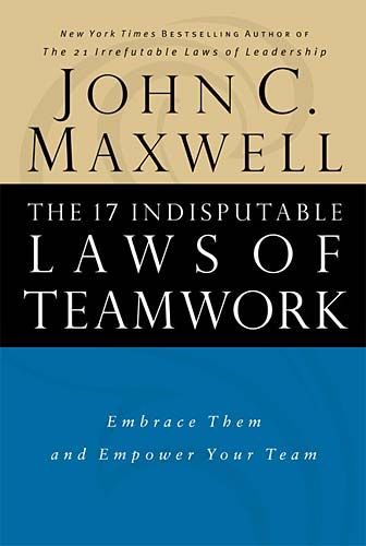 Being the second book that I read from leadership expert John Maxwell and about teams, The 17 Indisputable Laws of Teamwork has given me lots of insights on becoming a better team member and leader...