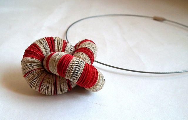 fibonacci necklace liz hamman effemera