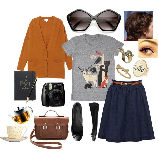 """""""Cozy Afternnoon"""" by zerouv on Polyvore: Womens Pentagon Designer Inspired Oversize Fashion Sunglasses 8908"""