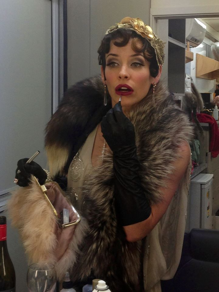 Hair and makeup by Hil Cook www.hilcook.co.nz #Evangelinelilly #gatsbystyles
