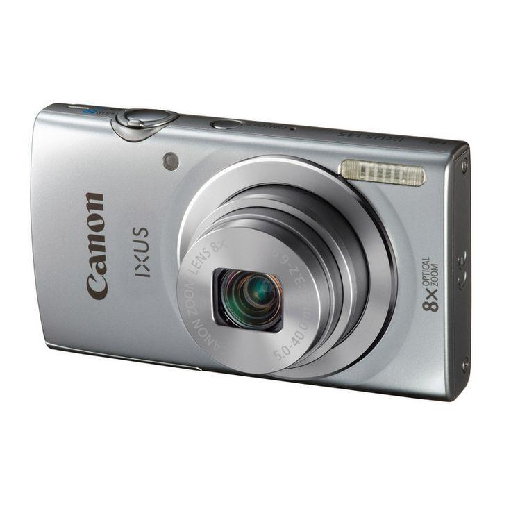 Apunta y dispara con estilo  Tan sólo apunta y dispara con esta IXUS compacta y elegante de 16 megapíxeles con Smart Auto y la cámara se encargará por ti de los ajustes, para que puedas disfrutar en todo momento de fotografías espectaculares y vídeos HD con la calidad de Canon.
