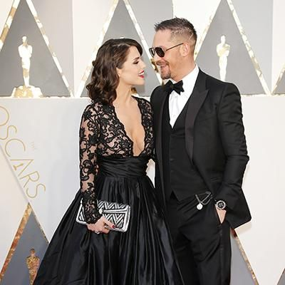 Red Carpet: The Internet Can't Get Over Tom Hardy's Beautiful Wife Charlotte Riley at the Oscars