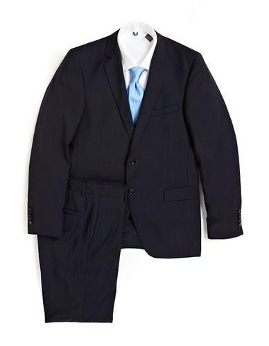 STRELLSON Rick James Modern Fit Wool Suit - NAVY - Fashion Deals