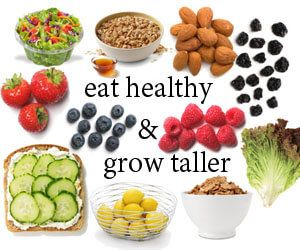 Natural ways to get taller with foods