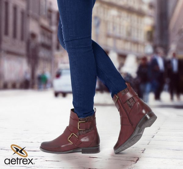 Comfy #boots with built-in orthotics & memory foam cushioning soft on your  feet