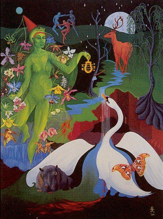 III. The Empress - Navigators of the Mystic Sea Tarot by Julia Turk - If you love tarot, visit me at www.WhiteRabbitTarot.com