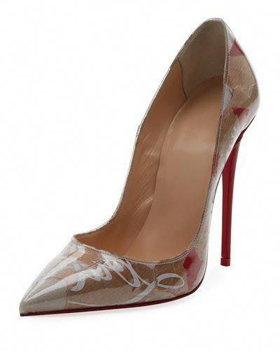 9c537650d514 Christian Louboutin So Kate 120mm Collage Red Sole Pumps  ChristianLouboutin