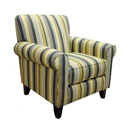 Armen Living US5021EG   Danny Chair Estrella Gunmetal Fabric | Sale Price:  $790.00