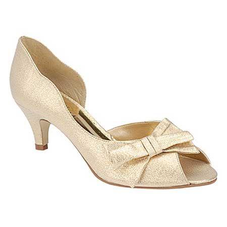 sapatos de salto baixo feminino