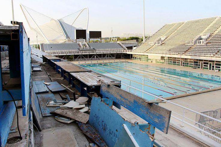 Main Swimming Pool, Athens,  2004 Summer Olympics Venue