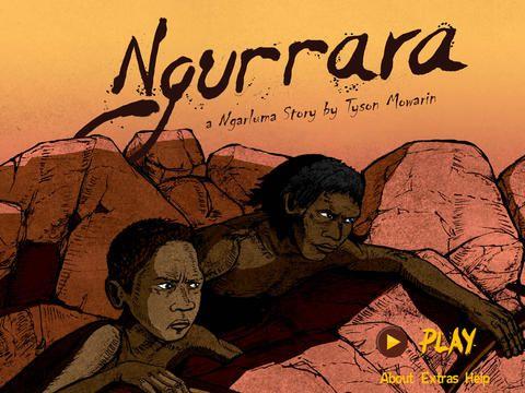 This free iPad interactive story. Ngurrara follows the journeys of three young Australian Aboriginal Ngarluma men as they fish, hunt and carve their own stories. It is set on Murujuga (Burrup Peninsula)
