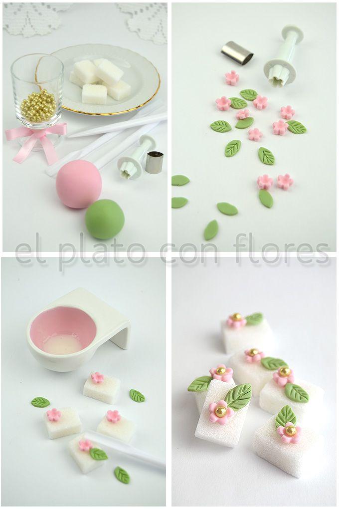 DIY: irresistibles terrones decorados | el plato con flores