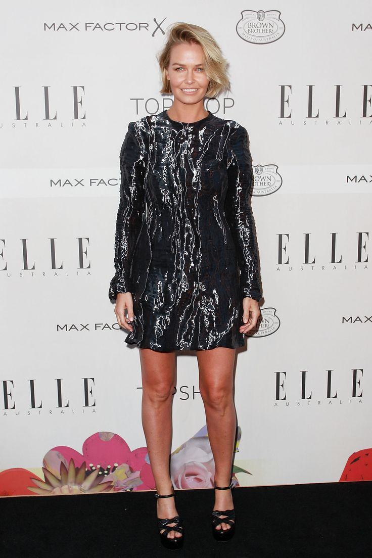 Lara Worthington at the Elle Australia Style Awards 2015