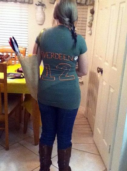 Katniss halloween costume