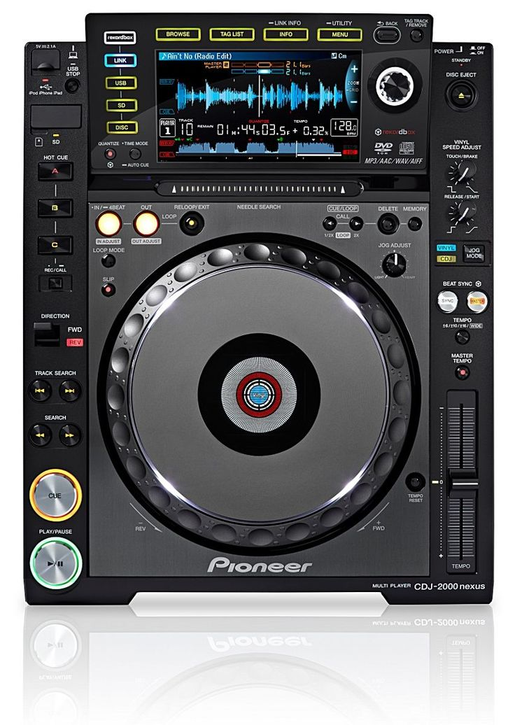 Pioneer DJ deck - a must for today's DJ