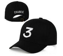 the Chance Rapper 3 Hat Fashion Hip-pop Baseball Hat Cap Adjustable Black Hip Hop Gothic gorro Dad Hat Yeezy Strapback Cap(China (Mainland))