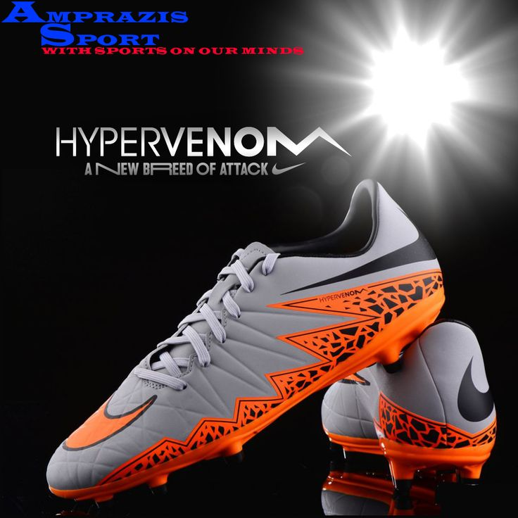 Flame on!!! This is the all new #nike #hypervenom