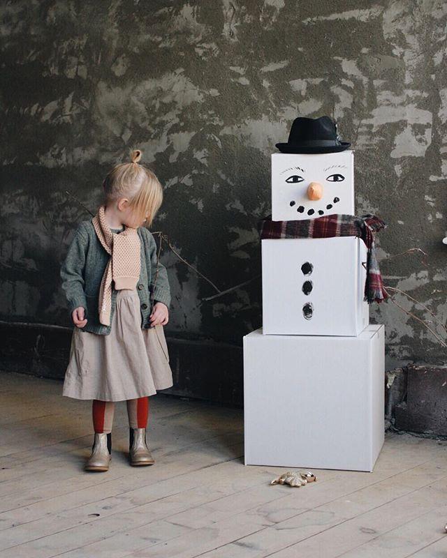 snow man box gift idea @mer_mag