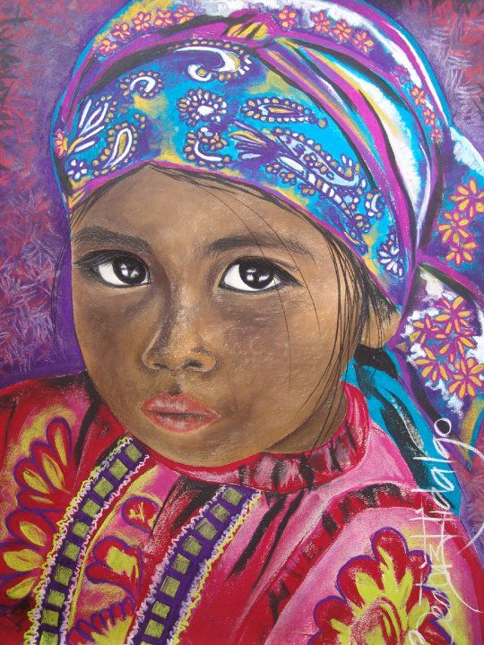 Beatriz Hidalgo De La Garza | Mexican Portrait painter | Soul of Mexico | Tutt'Art@ | Pastel Painting | Mexican Art